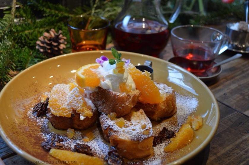 Aoyama Flower Market Tea House french toast